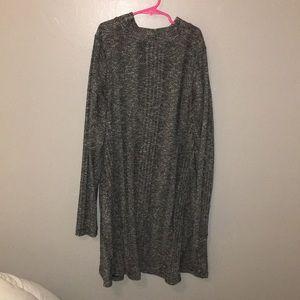 target mock neck sweater dress